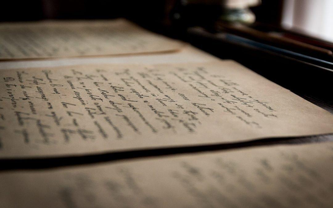 dossier : les lettres, se remettre à écrire