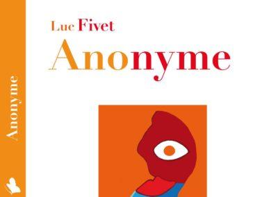 """Lecture des premières pages du roman """"Anonyme"""""""