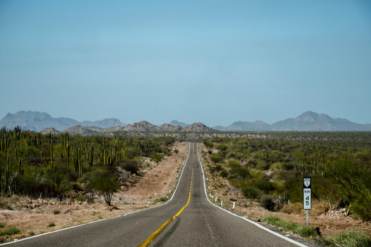 Route Mexique A2