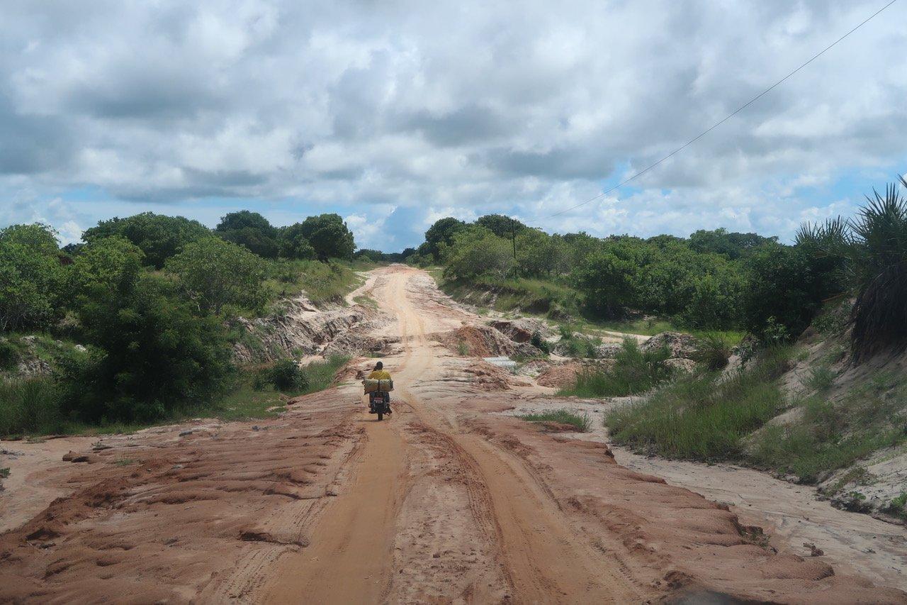 Route nord Mozambique A2