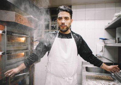En cuisine avec Simone Tondo et Olivier Woodhead