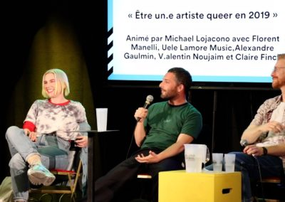Table ronde  ·  être un-e artiste queer en 2019