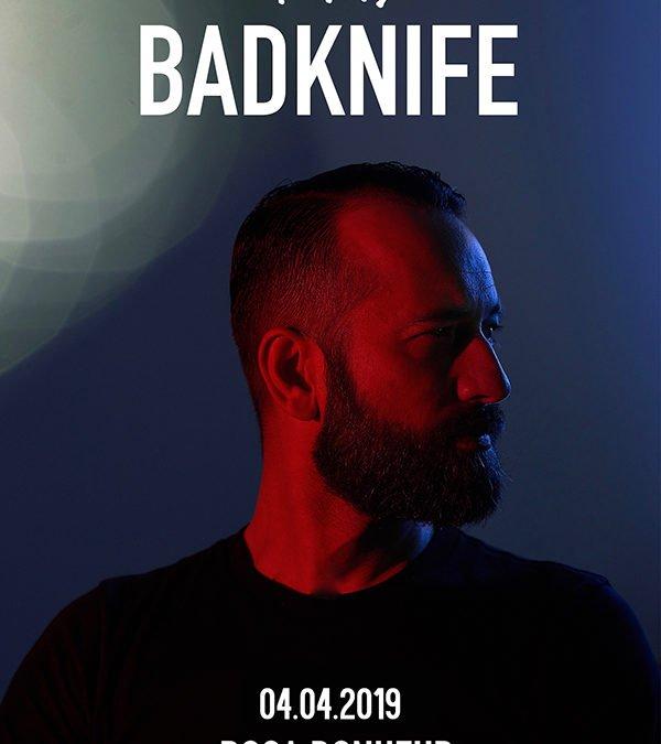 DJ set avec Badknife (disco)