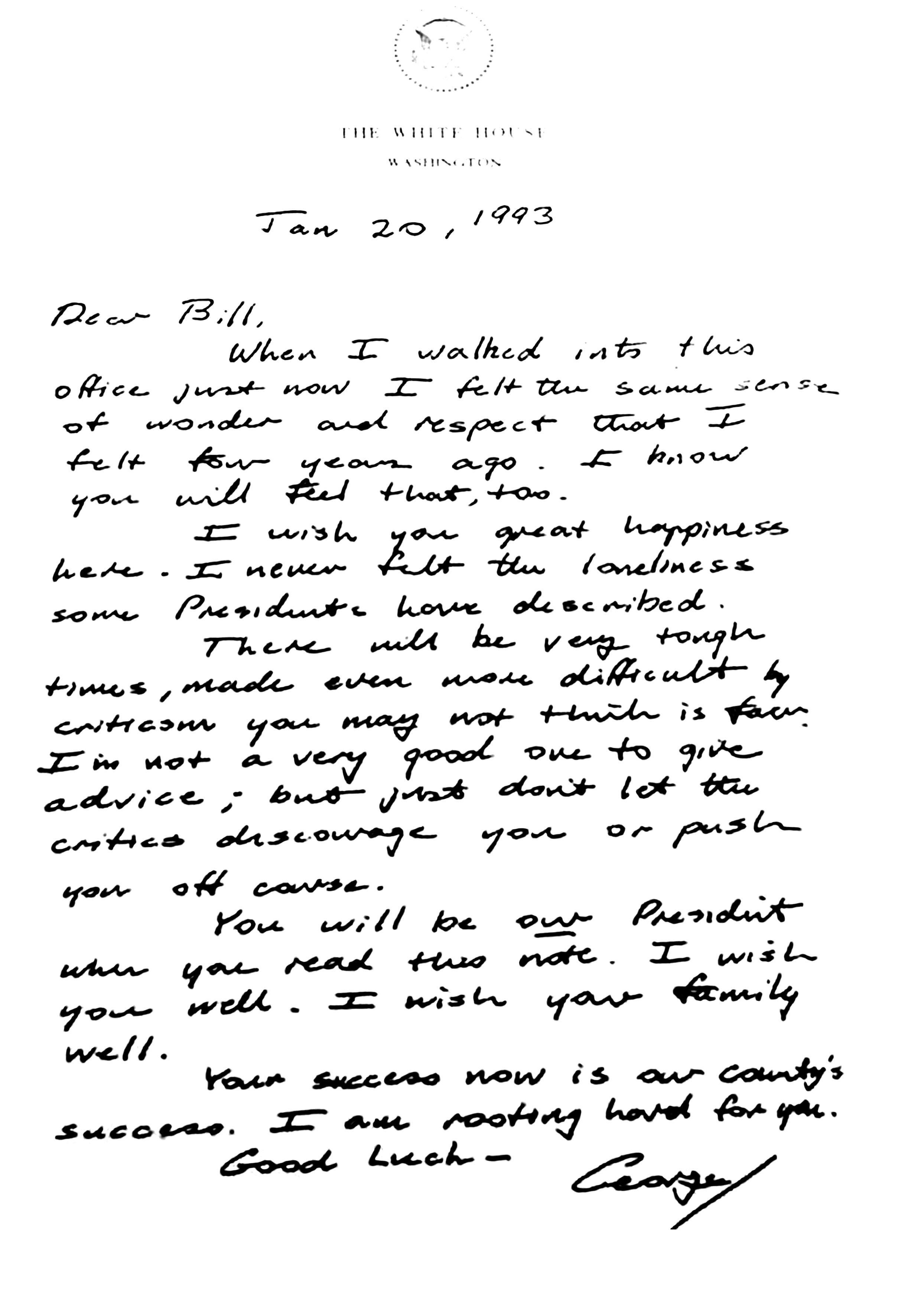 2 I Georges Bush a¦Ç Bill Clinton I Des Lettres NON mais LDD_1
