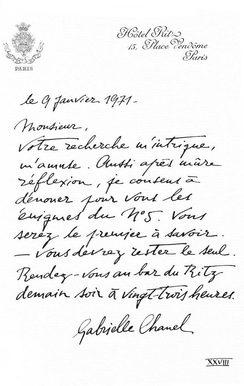 26 I Coco Chanel I Des Lettres OUI