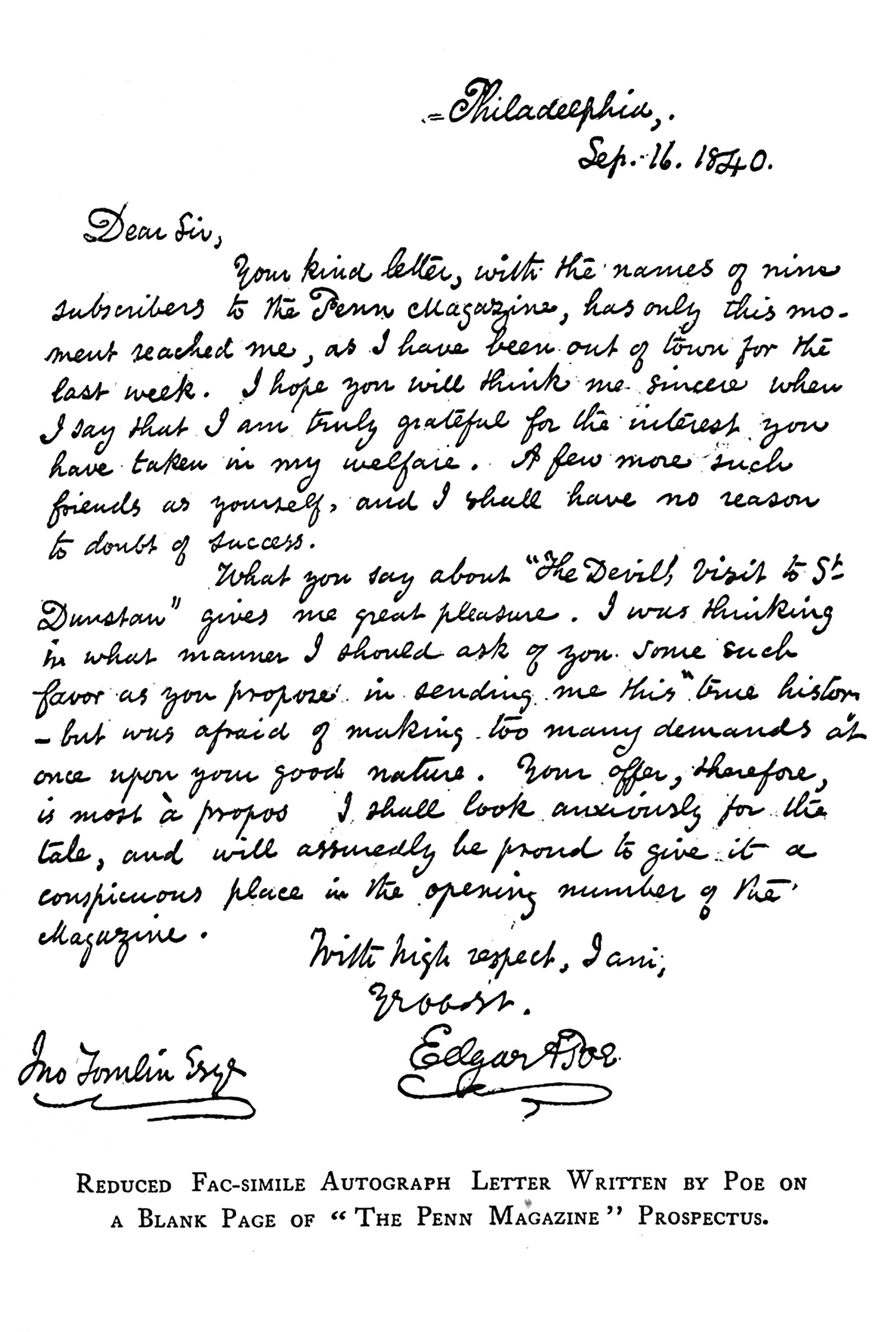 5 I Edgar Allan Poe I Des Lettres NON mais LDD_1