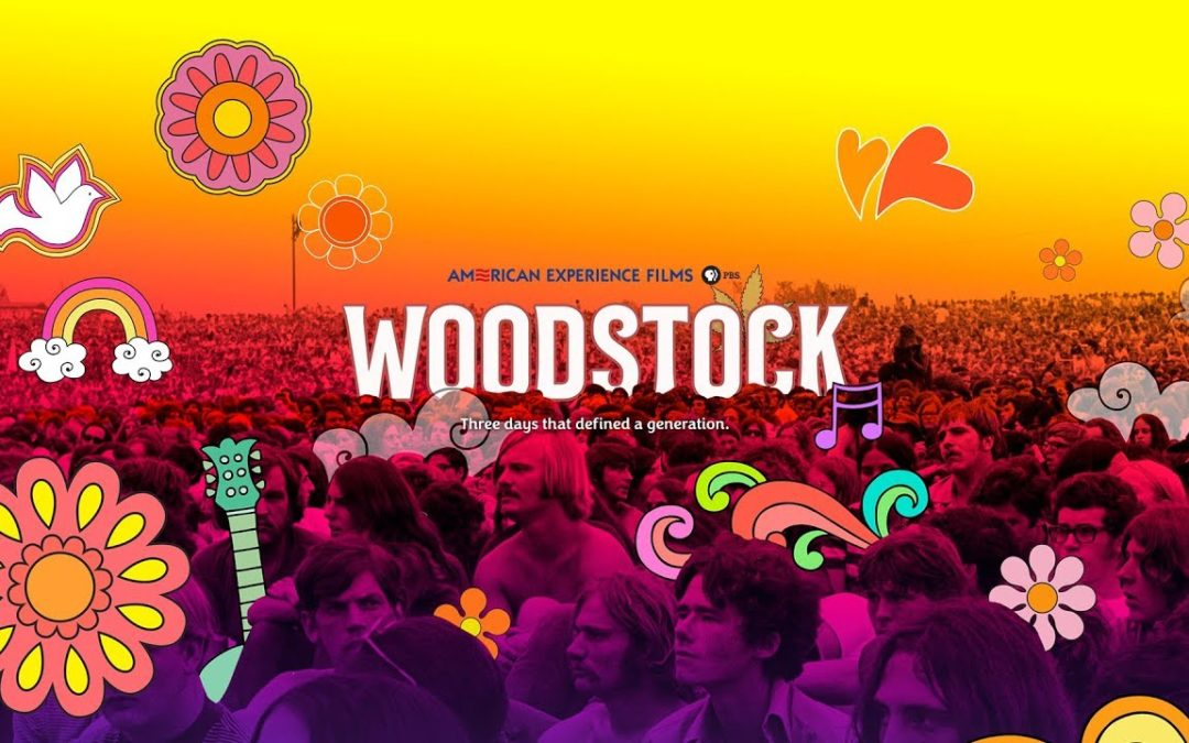 """Diffusion du film """"Woodstock : 3 days of peace & music"""""""