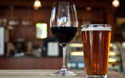 Bière et vin nature