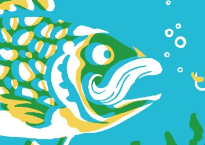 Pépé pêche, le conte des petits