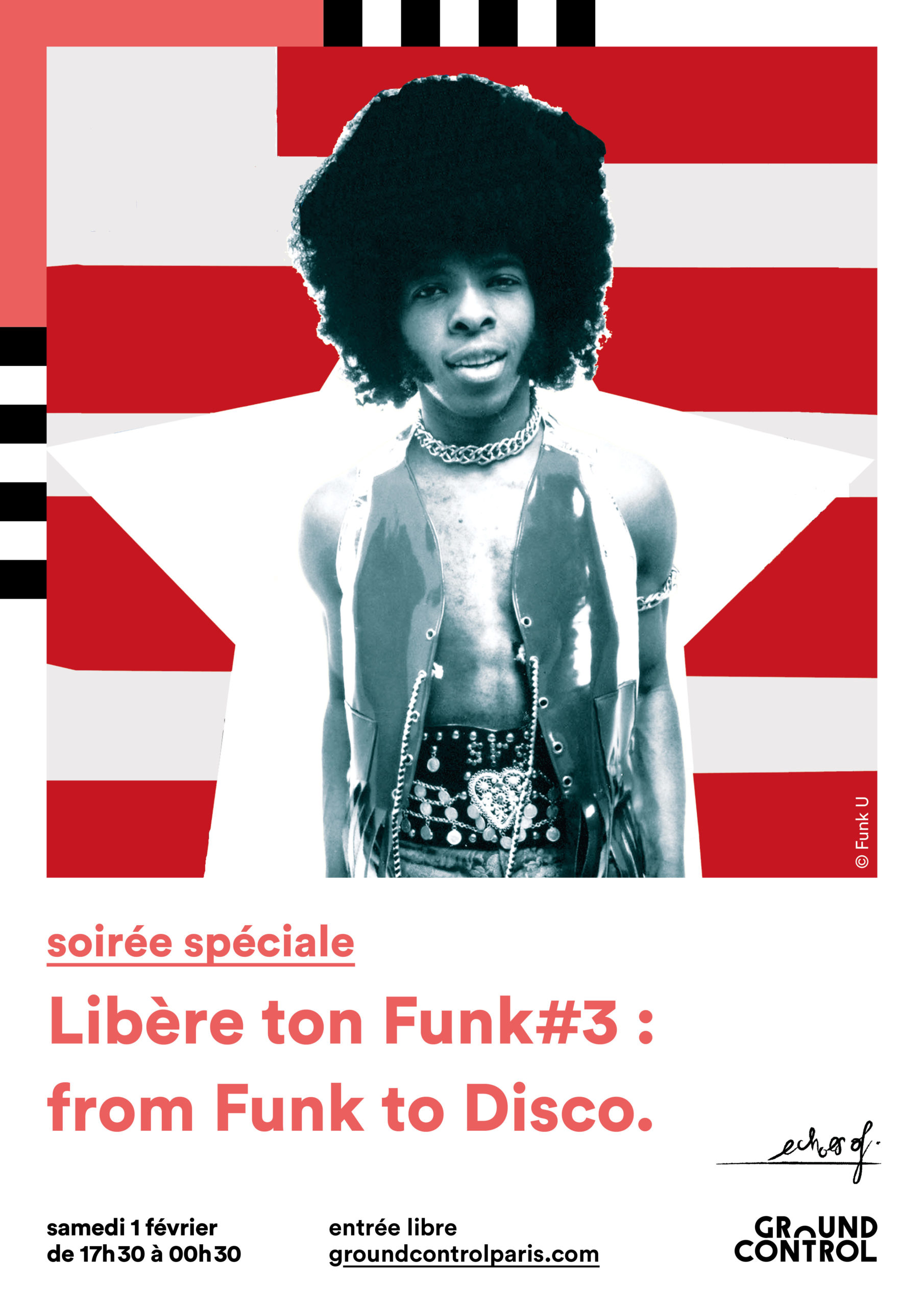 Libère ton funk#3 : from Funk to Disco.