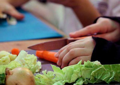 Les ateliers de cuisine éco-citoyenne