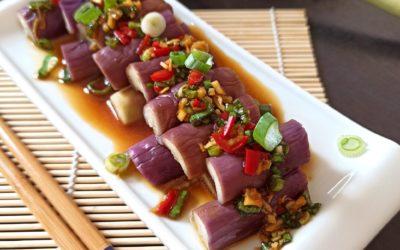 La salade d'aubergine violette de Coin Op Table