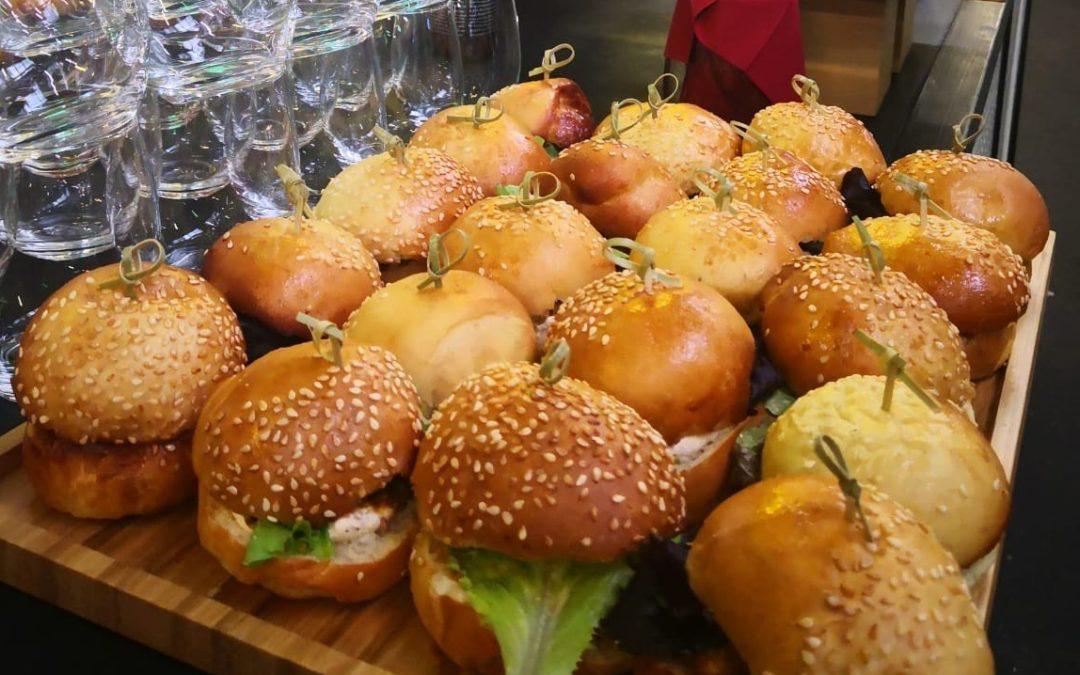 Le burger kawaj végétarien de La Résidence