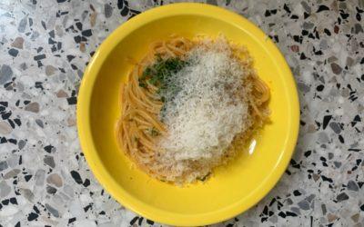 Spaghetti aglio & olio par Solina