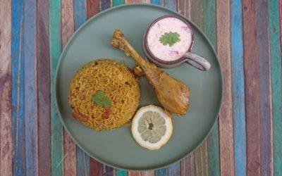 Biryani au poulet par Doshas