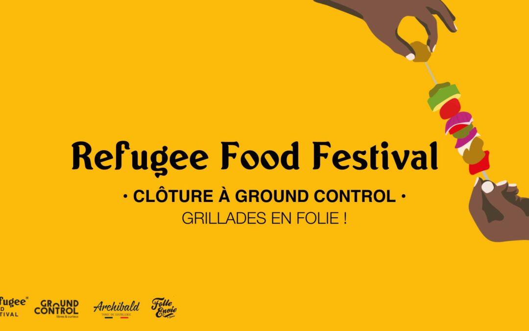 La clôture du Refugee Food Festival