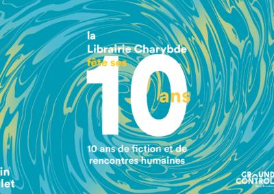 La Librairie Charybde fête ses 10 ans